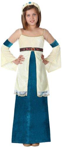 Atosa - 15875 - Costume - Déguisement De Dame Médiévale - Fille - Taille 4