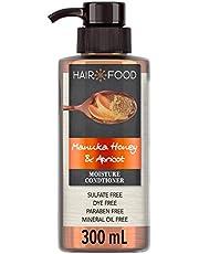 Hair Food Sulfate Free Moisturizing Conditioner Manuka Honey and Apricot, 300ml