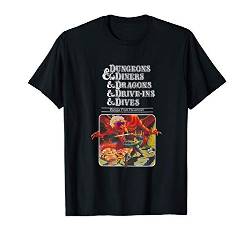 Dungeons And Diners And Dragons And Dives And Drive-Ins Tee T-Shirt