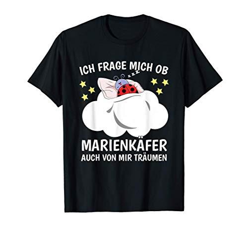 Schlafshirt Nachthemd Schlafoberteil Träumen Marienkäfer T-Shirt