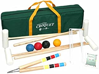 Extreme 4 Player Croquet Set By Oakley Woods Croquet