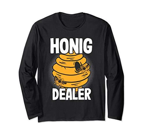 Honig Dealer   Honigdealer   Lustiges Geschenk für Imker Langarmshirt