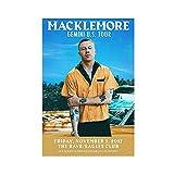 Macklemore 4 Leinwand-Poster, Wandkunst, Deko, Bild,