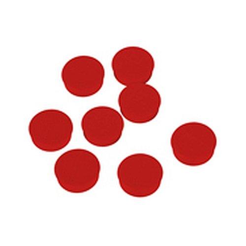 Magneet, rode accessoires voor whiteboards/flipcharts grootte (diameter): 2,0 cm 1 VE = 8 st.