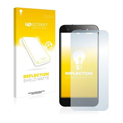 upscreen Entspiegelungs-Schutzfolie kompatibel mit ZTE Blade L6 – Anti-Reflex Bildschirmschutz-Folie Matt