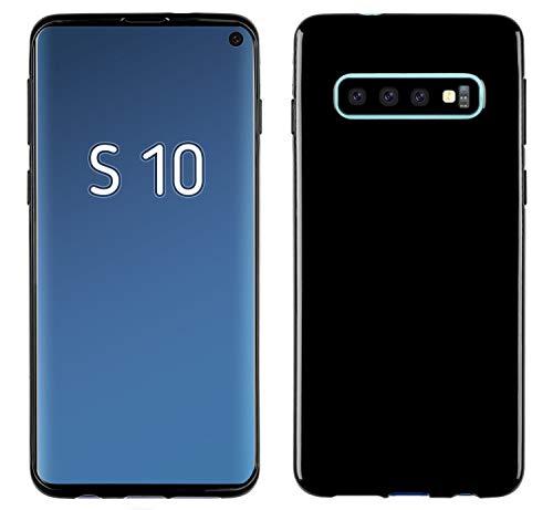 Yayago - Custodia in TPU per Samsung Galaxy S10, colore: Nero