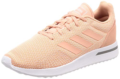 adidas Run70s, Damen Laufschuhe, Orange (Clear Orange/Dust Pink/Grey Three F17 Clear Orange/Dust Pink/Grey Three F17), 39 1/3 EU (6 UK)
