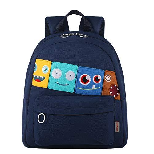 GAGAKU Mini mochila infantil con correa de pecho impermeable para niños de 1 a 5 años