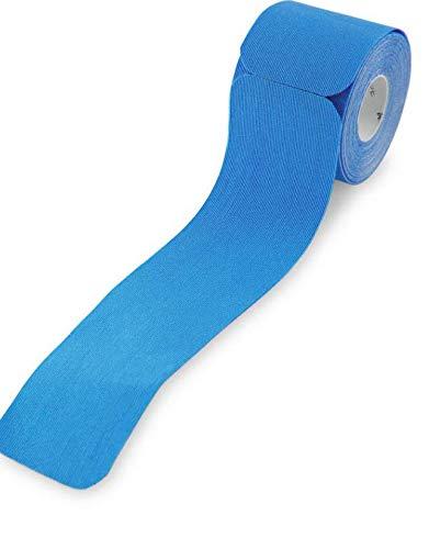 Pinofit Kinesiologie-Tape, Pro Sport, vorgeschnittene Streifen, wasserdicht, stark, selbstklebend, flexibel, schnelltrocknend, von Profis verwendet, Blau