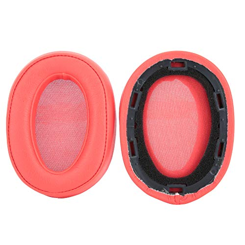Soft Replacement Earpads oorkussens headset cover case geschikt voor Sony MDR-100ABN WH-H900N koptelefoon rood