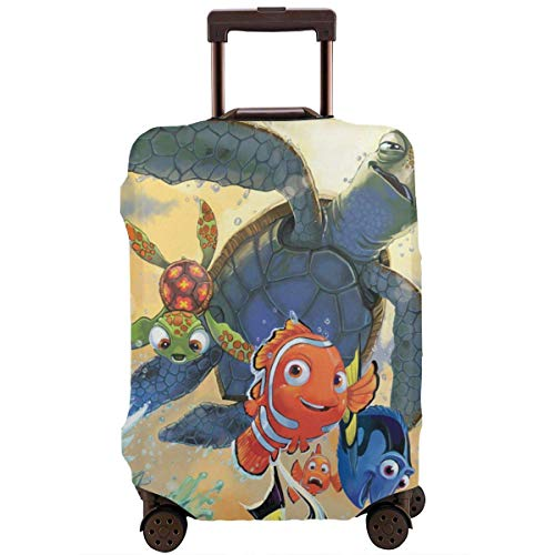 Cartoon Finding Nemo Travel Luggage Cover Suitcase Protector Washable Baggage Luggage Covers