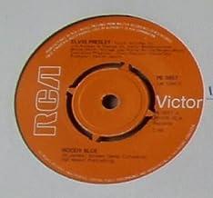Elvis Presley Moody Blue UK 45 7