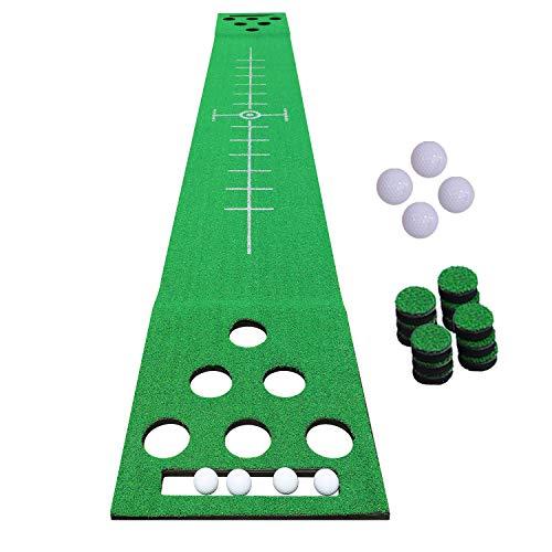 SHOWTIMEZ Golf Putting Mat Green