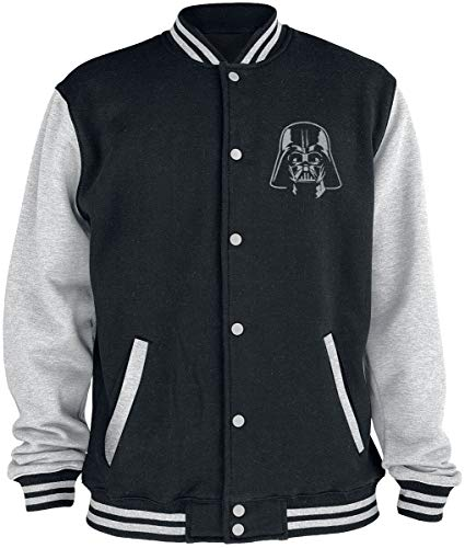 STAR WARS Darth Vader Logo College-Jacke schwarz/grau L