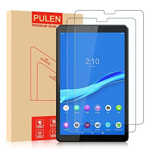 [2 Pack] PULEN Screen Protector Compatible with Lenovo Tab M10 FHD Plus 10.3 inch(2nd Gen), Premium Quality Tempered Glass [Bubble Free][Anti-Fingerprint] HD Scratch Resistance Film