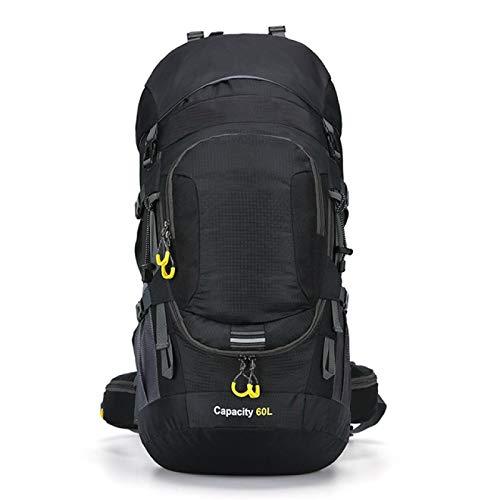 HUANGDANSEN Running Backpack Unisex 60L Waterproof Backpack, Travel Bag, Sports Bag, Outdoor Camping Hiking Backpack