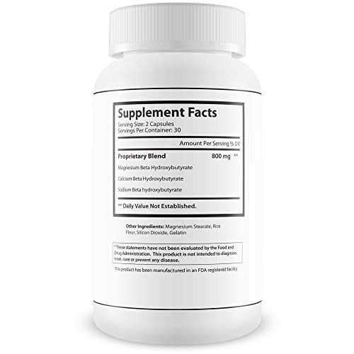 Pure Keto Engaged Weight Loss - Help Accelerate Your Keto Diet with Bhb - Magnesium Bhb Formula for Faster Fat Burn and Longer Ketosis Intervals to Help You Improve Your Keto Diet 5