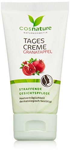 Cosnature Straffende Tagescreme Granatapfel 50 ml, 3er Pack (3 x 50 ml)