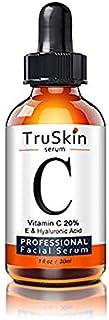 TruSkin Naturals Vitamin C Organic Anti Aging Topical Facial Serum, 30 ml