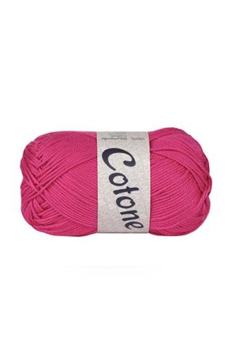 Lana Grossa Cotone 003 super pink 50g Wolle