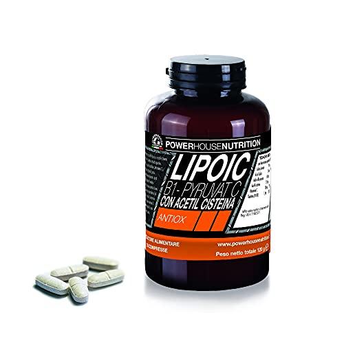 Acido Alfa Lipoico Powerhouse Nutrition | LIPOIC PYRUVAT-C | Integratore Alimentare con...
