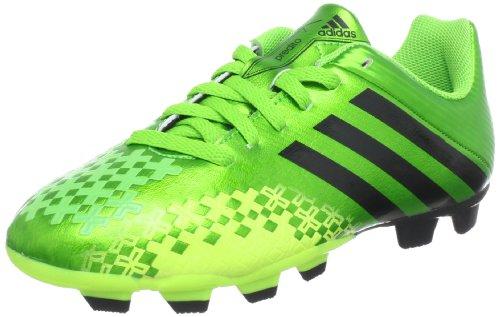 adidas Performance Predito LZ TRX FG J Q21684, Jungen Fußballschuhe, Grün (RAY GREEN F13 / BLACK 1 / ELECTRICITY), EU 38 (UK 5)