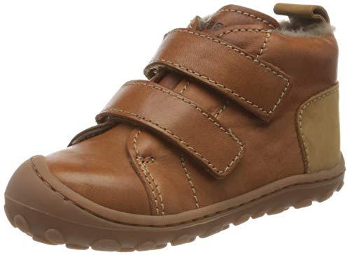 Bisgaard ray First-Step Shoe, Brandy, 23 EU