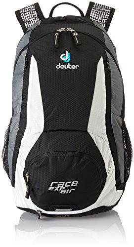 Deuter Race Exp Air Sac à Dos vélo Homme, Noir/Blanc, 12 + 3 L