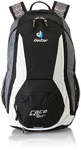 Deuter Herren Wanderrucksack Race Exp Air, Black-White, 47 x 24 x 22cm, 15 Liter, 3213371300