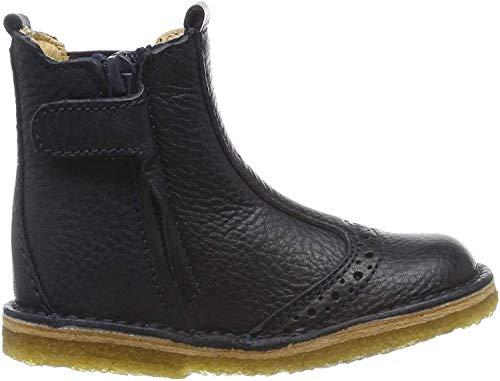 Bisgaard Unisex-Kinder Nori Chelsea Boots, Blau (Navy 600), 23 EU