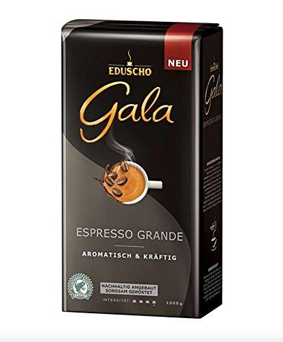 Eduscho Gala Espresso Grande, 1000g Bohnen 1er Pack