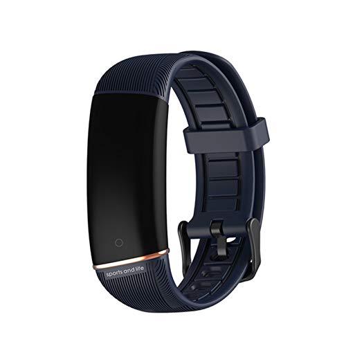 YDZ Nueva Temperatura Corporal E98 Mujeres Hombre Hombre Impermeable Bluetooth Smart Reloj Tasa del Corazón Monitoreo del Sueño Deportes Smartwatch Call Reminder Watch,D