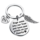 Dog Memorial Gifts Loss of Dog Keychain Sympathy Gift Memorial Jewelry Dog Bereavement