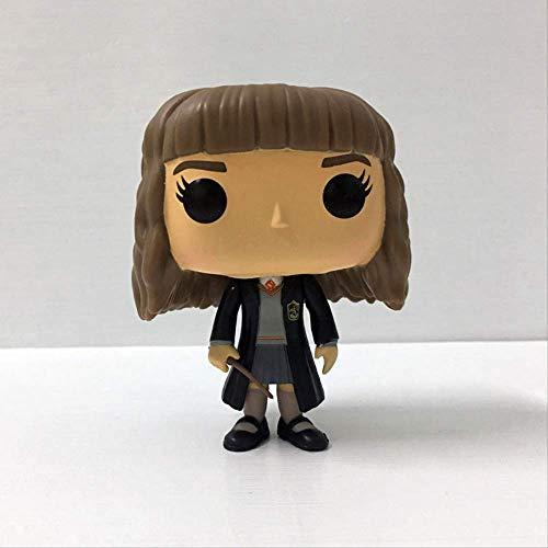 XIAOJIU Modelo Hecho A Mano Estatuas Figura Funko Pop Harry Potter Hermione Granger Pose Hecho A Mano