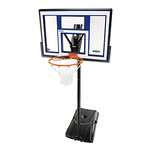 Lifetime Tragbarer Basketballkorb 90168, 121,9 cm, Polycarbonat-Rückwandsystem