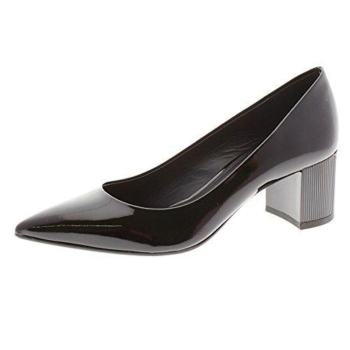 Zapatos Mujer Salones Peep_Toes Michael Kors Paloma Flex Mid Negro 36
