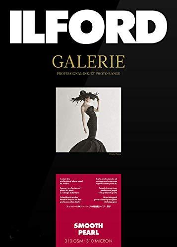 Ilford Galerie Prestige Smooth Pearl - Pack 100 hojas de papel (10x15 cm) color blanco
