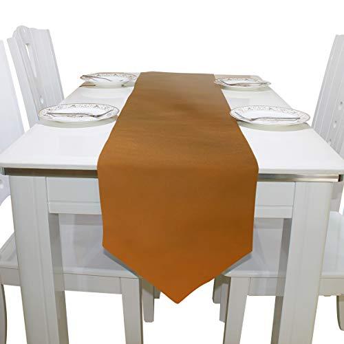 ZANSENG Tischläufer 13x90 Zoll, Brown Tabby Cat Lying Yard Sonnenbaden Tischdecke Läufer für Abendessen Feiertagsfeiern, Hochzeit, Veranstaltungen, Dekor