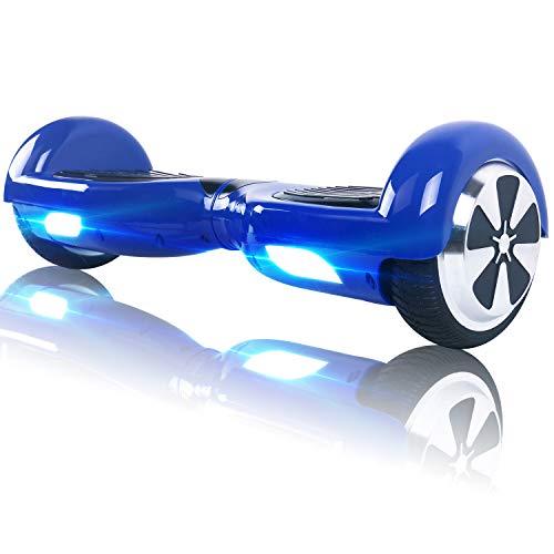 """BEBK Hoverboard 6.5"""" Smart Self Balance Scooter con Bluetooth,Overboard con LED Autobilanciato Scooter Certificazione UL 2272,2 * 250W Motore"""