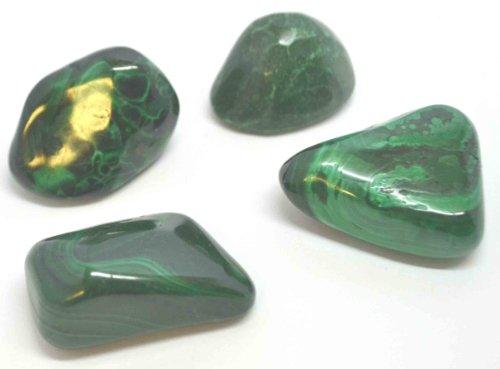 Malachit Trommelstein, erstklassige Qualität, ein sehr starker schützender Stein, gut zum Mitnehmen ins Flugzeug