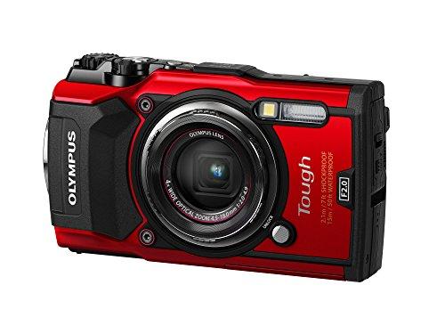 Olympus Stylus TG-5 Fotocamera Compatta, Rossa