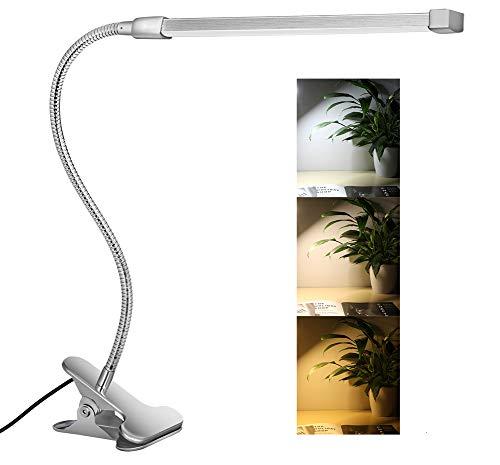Svance Lampe portable de bureau, à LED, à luminosité réglable argent