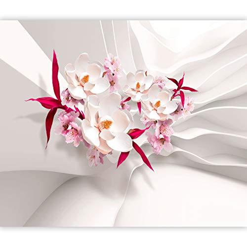 murando Fotomurales Flores Orquídea 150x105 cm XXL Papel pintado tejido no tejido Decoración de Pared decorativos Murales moderna Diseno Fotográfico Abstracto 3D Efecto b-C-0586-a-a