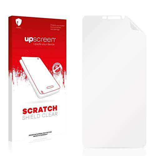 upscreen Schutzfolie kompatibel mit Bluboo Dual – Kristallklar, Kratzschutz, Anti-Fingerprint