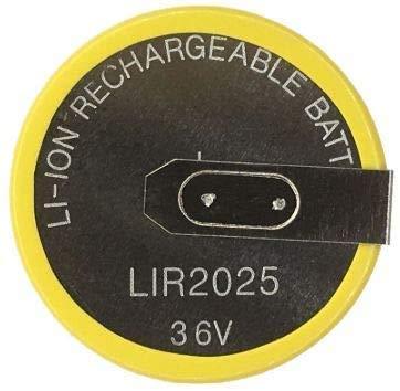 Bateria de Litio LIR2025 Series 3, 5, 7 X3 X5 E38, E39, E46 E53 E60 E61 E83 Compatible VL2020. Apertura 90 º