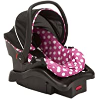 Disney Baby Minnie Mouse Light 'n Comfy 22 Luxe Infant Car Seat (Dot)