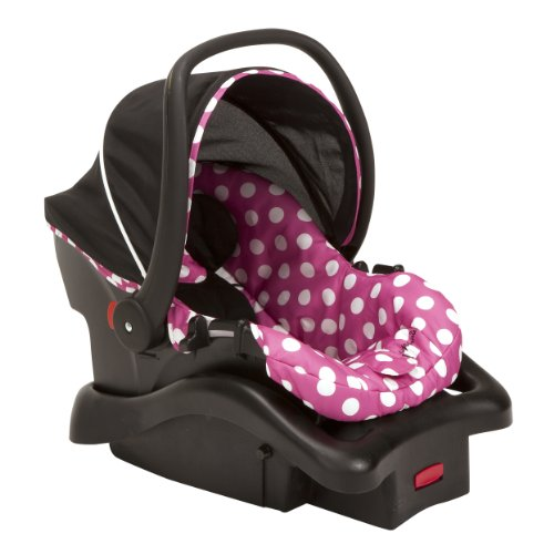 Cheapest Price! Disney Baby Minnie Mouse Light 'n Comfy 22 Luxe Infant Car Seat (Dot)