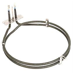 Genuine Hotpoint Replacement Oven Cooker 2 Turn Heater Element (2000 Watt) Fits Models: 60HEG S, 60HEG, 60HEP S, 60HEP, 61DCW(T), 61DCW, 62DCBK, 62DCW S, 62DCW, AHP37X(T), AHP37X/1, AHP37X, ARC60W, ARC60X, BD32B MK2(T), BD32B MK2, BD32B/2, BD32K MK2(...