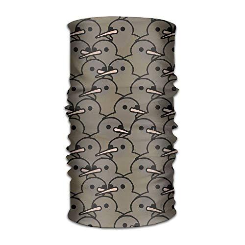ghjl Jonge Vogels Multifunctionele UV Weerstand Magic Gezicht Masker Elastische Hoofdband Bandanas Haar Wrap -Veelzijdige Sport & Casual Hoofddeksels Buiten