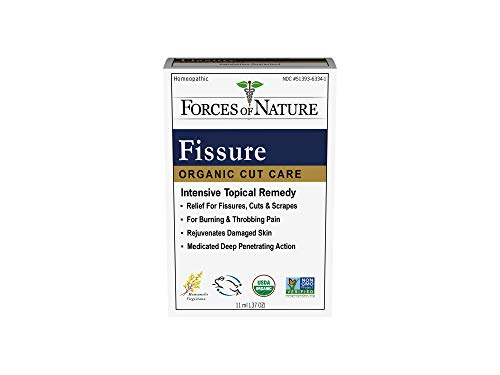 Forces of Nature – Natural, Organic Fissure Care (11ml) Non GMO, No Harmful Chemicals –Soothe and Relieve Burning, Throbbing, Stinging, Itchy, Bleeding Tissue Caused by Fissures or Hemorrhoids